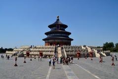Point de repère du temple du Ciel de ville de Pékin, Chine image stock