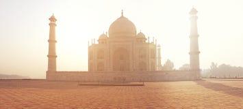 Point de repère indien du monde du Taj Mahal de palais photo libre de droits
