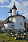Point de repère orthodoxe de monastère. Site d'héritage de l'UNESCO Photographie stock libre de droits