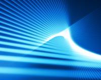 Point de vue bleu Image libre de droits