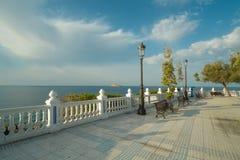 Point de vue d'océan de Benidorm Photo libre de droits