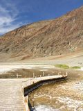Point de vue de Badwater Photographie stock