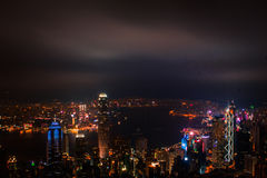 Point de vue de crête de Hong Kong View Point The Images stock