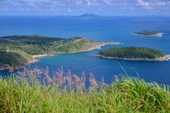 Point de vue de haute mer Image stock