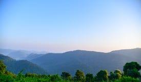 Point de vue de Khao Yai Photo libre de droits