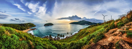 Point de vue de Phuket Images libres de droits