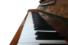 Point de vue de piano Photographie stock