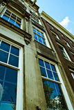 Point de vue hollandais d'architecture Photos stock
