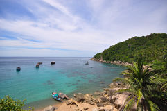 Point de vue Koh Tao Photographie stock libre de droits