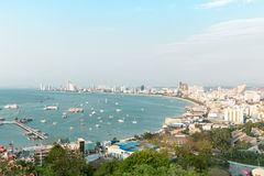 Point de vue Pattaya Photographie stock