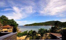 Point de vue privé chez Koh Tao Photographie stock libre de droits