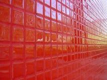 Point de vue rouge photographie stock libre de droits
