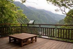 Point de vue scénique, parc national de Taroko Photo stock