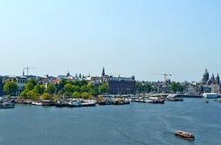 Point de vue sur Amsterdam image libre de droits