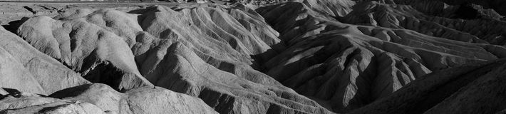 Point de Zabriske, stationnement national de Death Valley Photographie stock