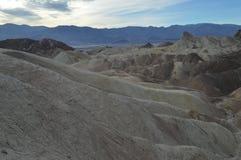 Point de Zabriskie dans Death Valley Images stock