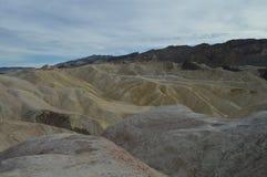 Point de Zabriskie dans Death Valley Images libres de droits