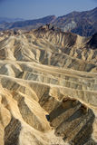 Point de Zabriskie, Death Valley Photos stock