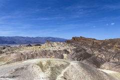 Point de Zabriskie, Death Valley, la Californie Images stock