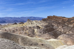 Point de Zabriskie, Death Valley, la Californie Photos stock