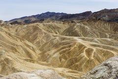 Point de Zabriskie, Death Valley, la Californie, Etats-Unis Photos libres de droits