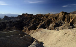 Point de Zabriskie Death Valley, la Californie, Etats-Unis Photographie stock libre de droits