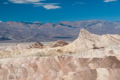 Point de Zabriskie, Death Valley NP, Etats-Unis Photos stock