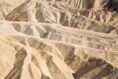 Point de Zabriskie en parc national de Death Valley, la Californie, Etats-Unis Images stock