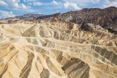 Point de Zabriskie en parc national de Death Valley, la Californie, Etats-Unis Photographie stock