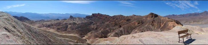 Point de Zabriskie, stationnement national de Death Valley image libre de droits