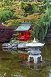 Point Defiance Japanese Garden Royalty Free Stock Images