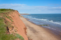 Point Devon d'Orcombe Images stock
