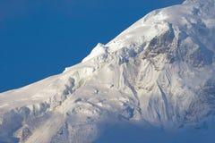 Point du jour tibétain de montagnes Image libre de droits