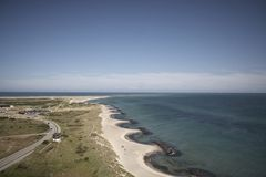 Point du nord de Skagen Photographie stock libre de droits