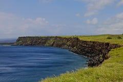 Point du sud Hawaï de falaises Image stock