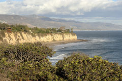 Point Dume. Natural preserve, Malibu California royalty free stock image