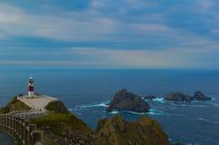 Point Espagne de phare photo libre de droits