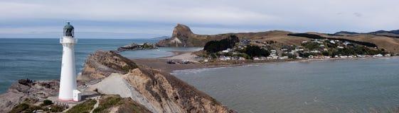 Point et phare de château Image libre de droits