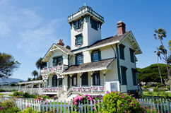 Point Fermin Lighthouse Images stock