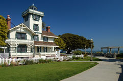 Point Fermin Lighthouse Royalty Free Stock Photos