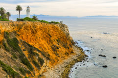 Point Fermin Lighthouse Photographie stock