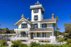 Point Fermin Lighthouse Royalty Free Stock Images