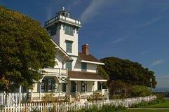 Point Fermin Lighthouse, la Californie le jour ensoleillé Photo stock