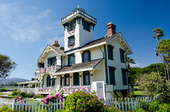 Point Fermin Lighthouse. Is located in San Pedro California Stock Images