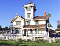Point Fermin Lighthouse Royalty Free Stock Photo