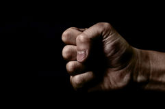 Point a finger Royalty Free Stock Photography