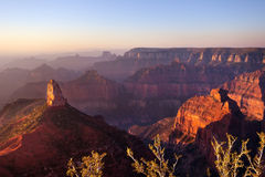 Point Imperial, Grand Canyon North Rim Royalty Free Stock Image