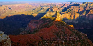 Point Imperial Grand Canyon North Rim Stock Photo