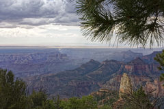 Point Imperial - Grand Canyon. A view of Point Imperial at the Grand Canyon Stock Image