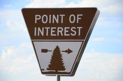Point of Interest Royalty Free Stock Photo